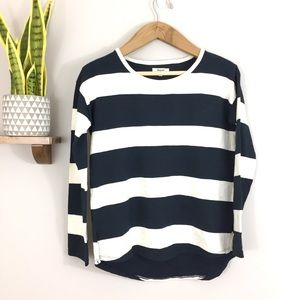 Madewell Norma Rugby Striped Heavy T Shirt